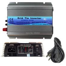 Onduleur à grille 600W   Fonction MPPT 22-60VDC, entrée 110V 230VAC, Micro cravate, onduleur à onde sinusoïdale Pure, 22V 60V à 110V 220V