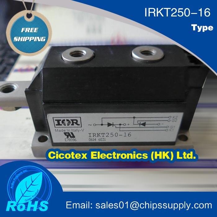 IRKT250-16 módulo igbt tiristor silício controlado retificador scr diodo módulo de potência 1600 v 250a 7 pinos MAGN-A-PAK