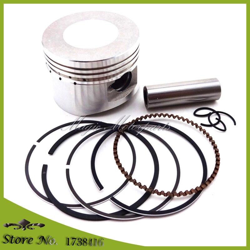 52mm 13mm Kolbenbolzen Ring Set Kit Für Chinesische Lifan 110cc motor Pit Dirt Trail Motor Bike ATV Quad 4 Wheeler Motorrad