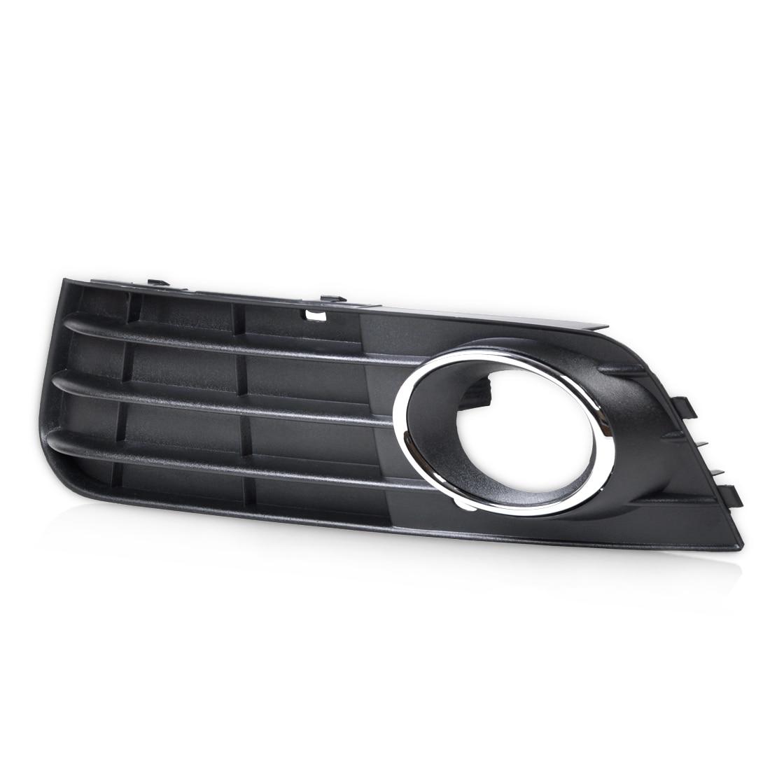 CITALL 8K0807681A01C 8K0807681A 1Pc Black Front Left Bumper Fog Light Lamp Cover Grille for Audi A4 B8 2008 2009 2010 2011 2012