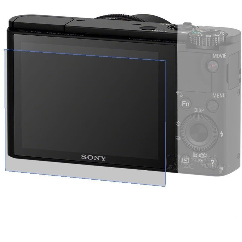 2x DSC-WX350 Temperado Vidro Protetor de Tela LCD para Sony DSC-WX300/WX300 DSC WX350 Digital Camera