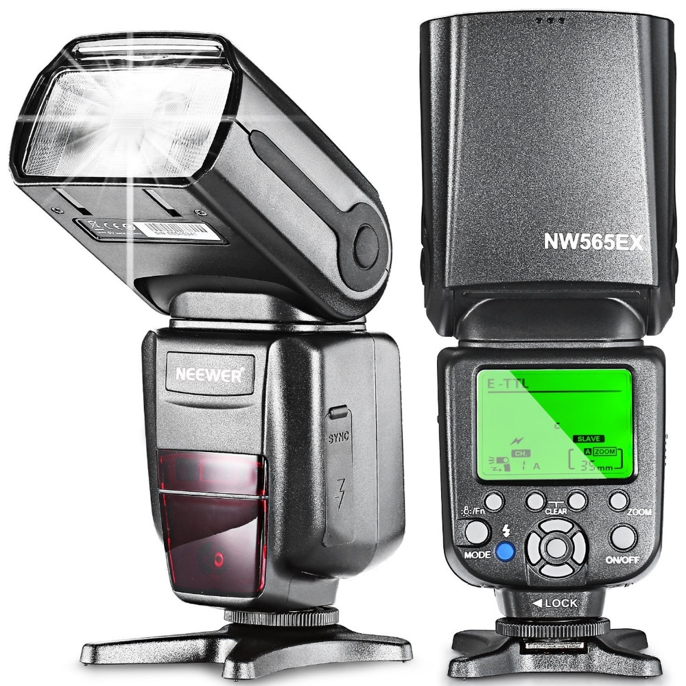 Neewer NW-565 Вспышка EXC E-TTL  Фонарик с Диффузором для Canon 5D II 7D, 30D, 40D и все других моделей Canon