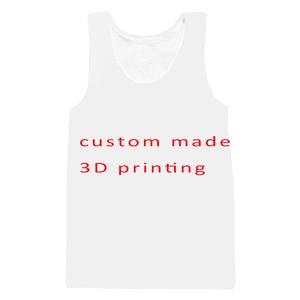 PLstar Cosmos Custom Full Print 3d Tank Top Mens/women Men US size tops Customsize tees Plus Size Drop shipping Men's Clothing