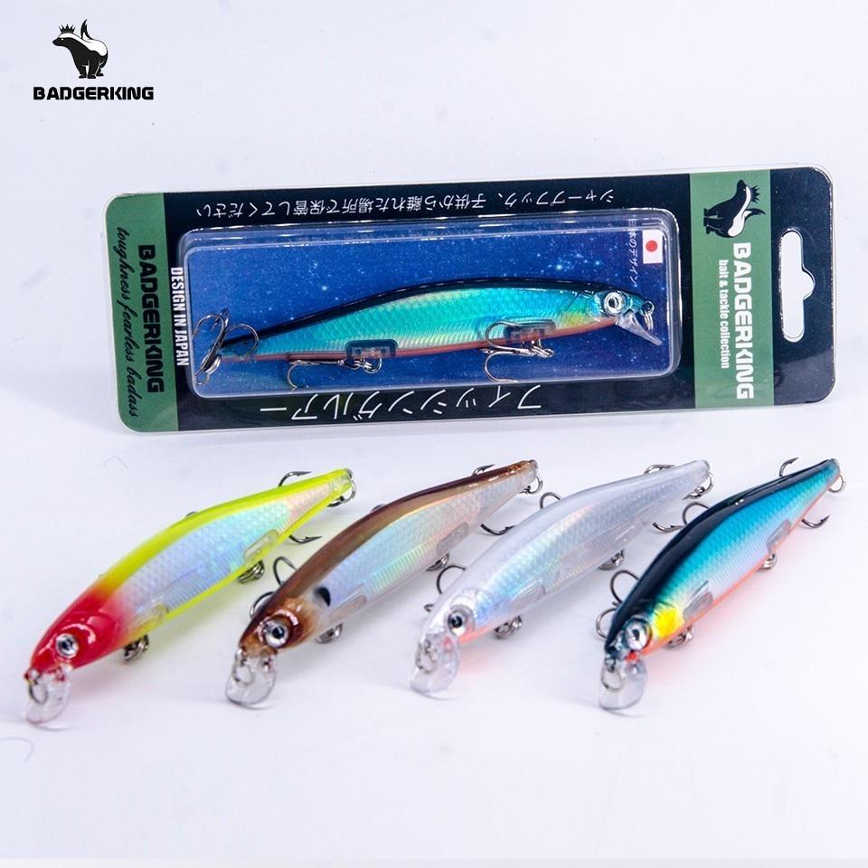 Suspensión de wobblers jerkbait 11cm 15g labio más pequeño más acción de la naturaleza alta calidad ganchos de buceo poco profundo suspendido pesca señuelo