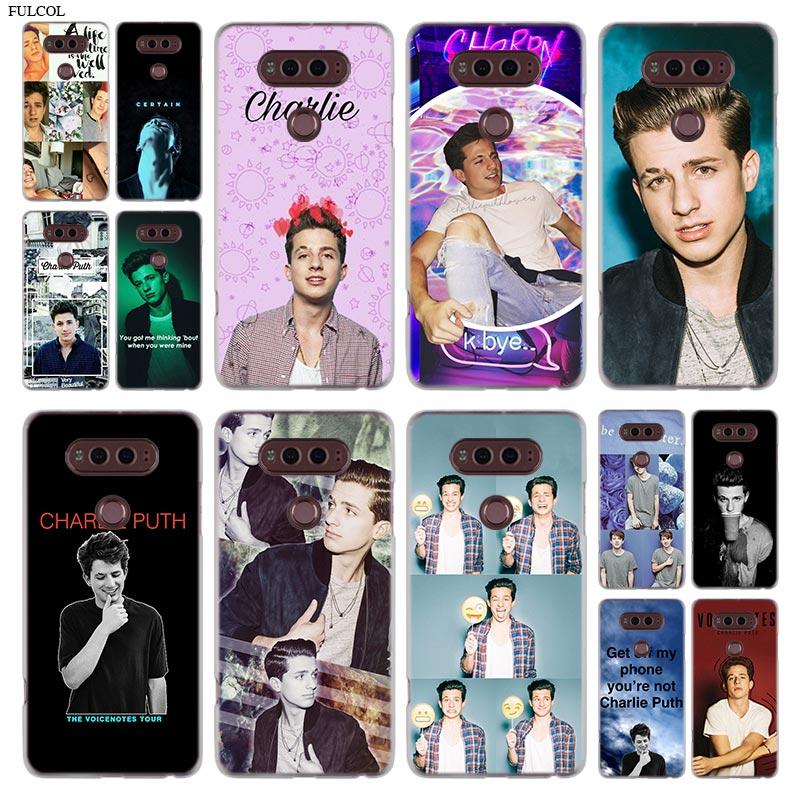 charlie puth Phone Case For LG Q6 a G7 G6 G5 G4 G3 V30 V20 K8 K8 K10 2018 K10 K8 2017 STYLUS STYLO 3 M700 Cover