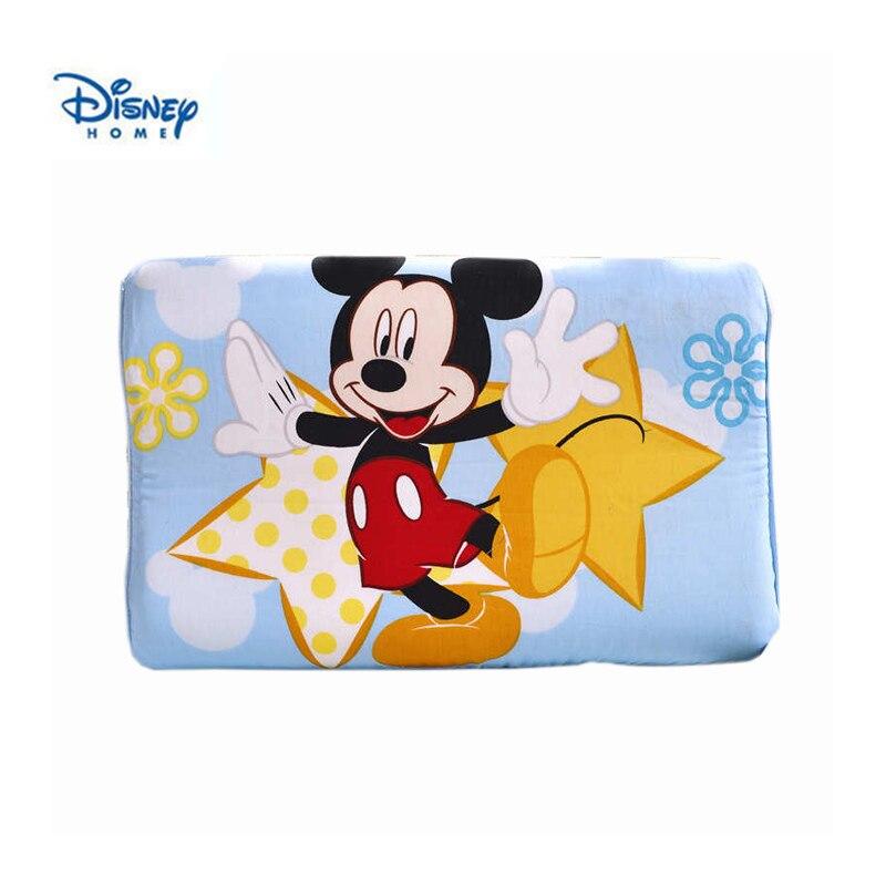 Dolce mickey mouse disney cuscino del mouse di minnie 40*25 centimetri di Qualità di Gomma Piuma di Memoria Ortopedico Collo Morbido cuscino 3d biancheria da letto home decor kid