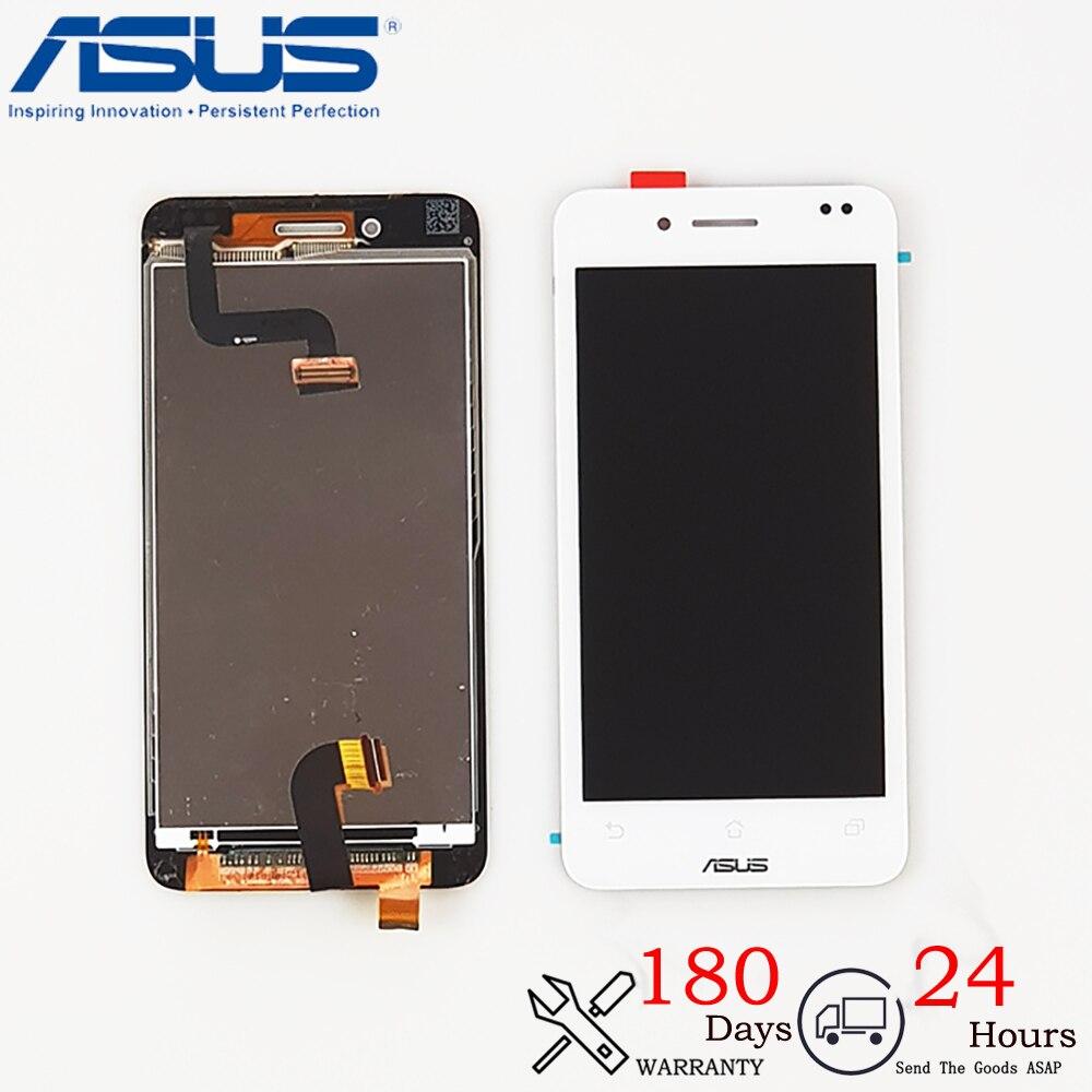 Montaje digitalizador táctil de pantalla LCD Original negro + marco para ASUS...