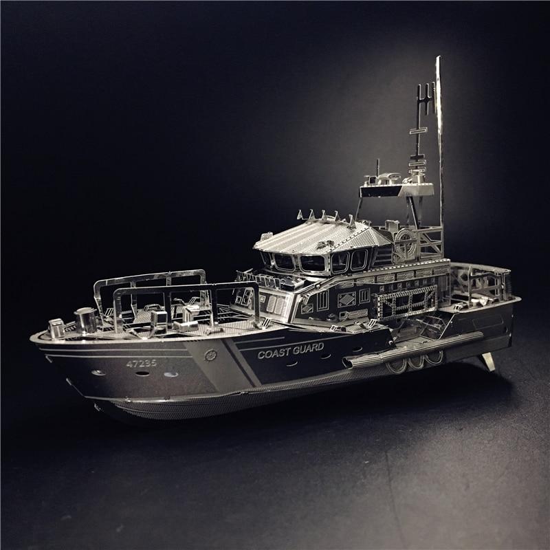 MMZ MODELL NANYUAN 3D Metall kits DIY Puzzle Montage Modell RETTUNGSBOOT C22201 1100 2 Blätter Edelstahl Kreative spielzeug geschenk