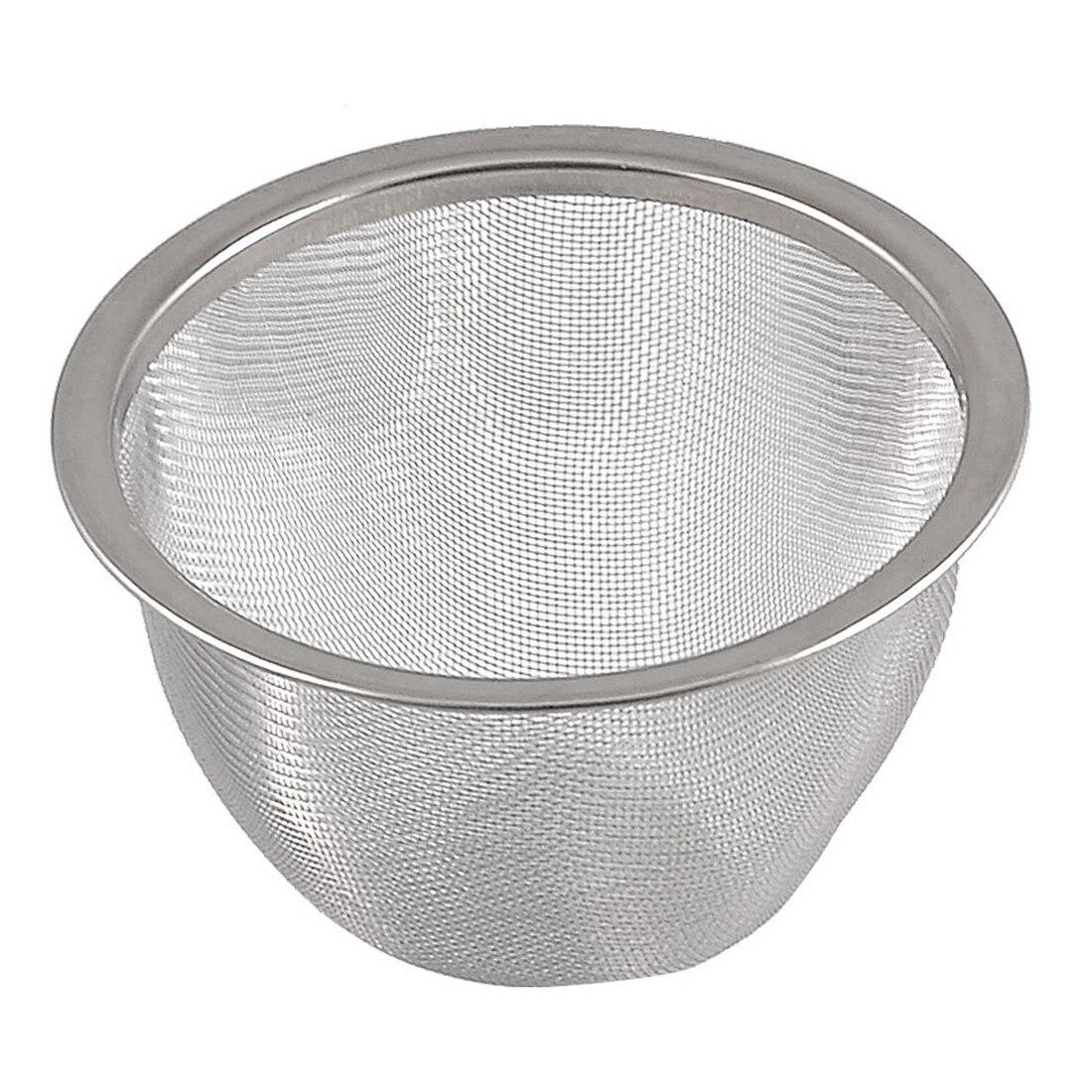 Teekanne durchmesser 80mm metall mesh tee Blatt gewürze sieb korb