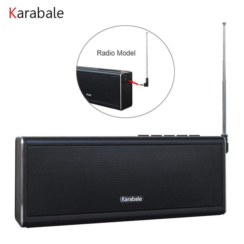 20W Portable Bluetooth Speaker 4400mAH Power Bank FM Radio Hifi Super Bass Computer Wireless Car Metal Speaker VS Piple S5
