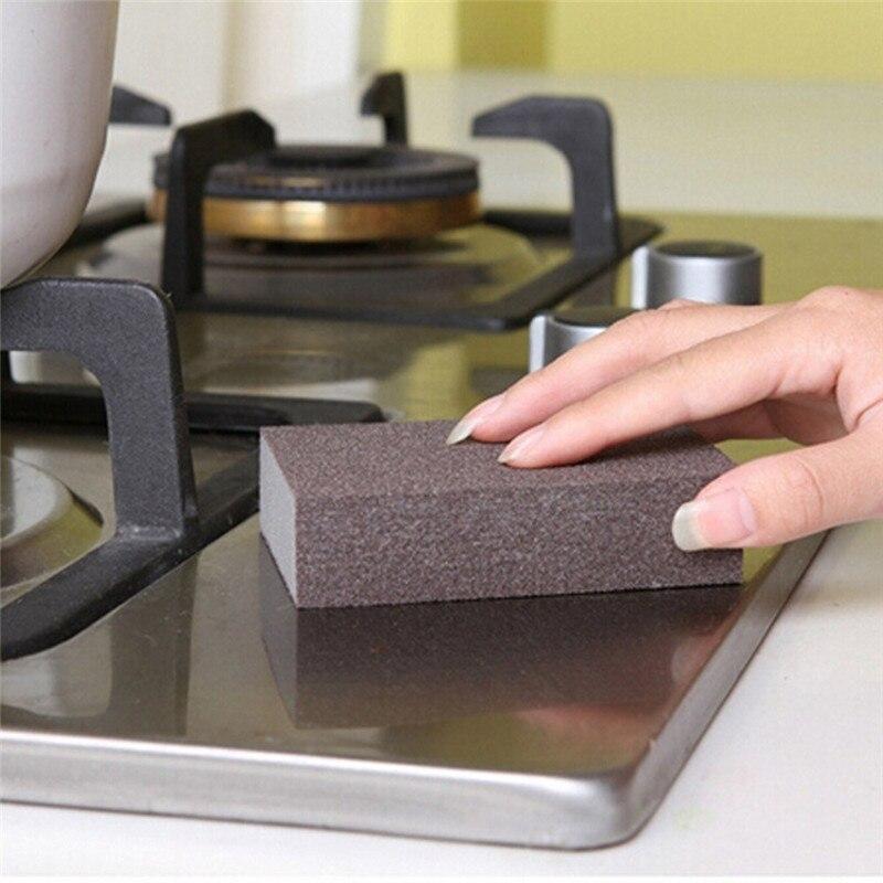 2020 casa & cozinha kichen acessórios esponja carborindo escova de lavagem da cozinha limpeza ferramenta de limpeza da cozinha