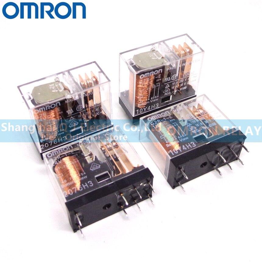 5 шт. OMRON Реле G2R-1-E-12VDC G2R-1-E-24VDC 12В 24В 16А абсолютно новое и оригинальное реле