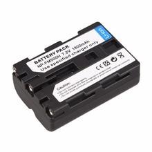 7.2V 1800mAh Li-ion Replacement Digital Camera Battery For Sony NP-FM500H A57 A58 A65 A77 A99 A550 A560 A580 Camera Batteries