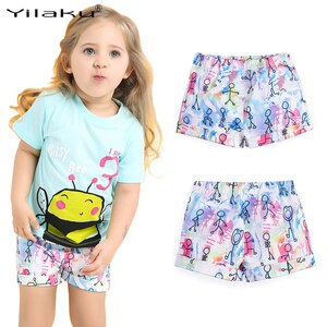 Yilaku Girls Shorts for Girl sport short Cotton Pants Fashion Shorts Kids Clothes Children Clothing Short Pants CI054-5-6