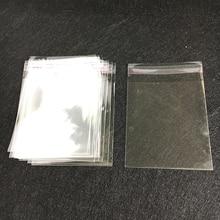 Sacs OPP auto-adhésifs 16*19cm 100 pièces   Sac plastique de rangement ménager sac de bonbons de mariage personnalisable, emballage de bijoux de haut de gamme
