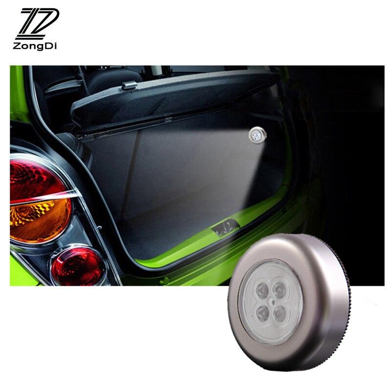 ZD 1X Interior del coche rejilla Lámpara de lectura decoración para BMW E46 E60 Ford focus 2 Mazda 3 Volkswagen Polo Volkswagen Golf 4 Skoda octavia Kia
