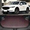 רכב אחורי אתחול אוניית מטען תא מטען מחצלת מגש רצפת שטיח בוץ Pad מגן עבור מאזדה CX5 CX-5 2017 2018 רכב -סטיילינג