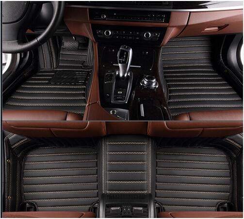 Esteras de alta calidad Alfombrillas de coche personalizadas para Toyota Avalon 2017-2012 alfombras de coche impermeables para Avalon 2015, envío gratis