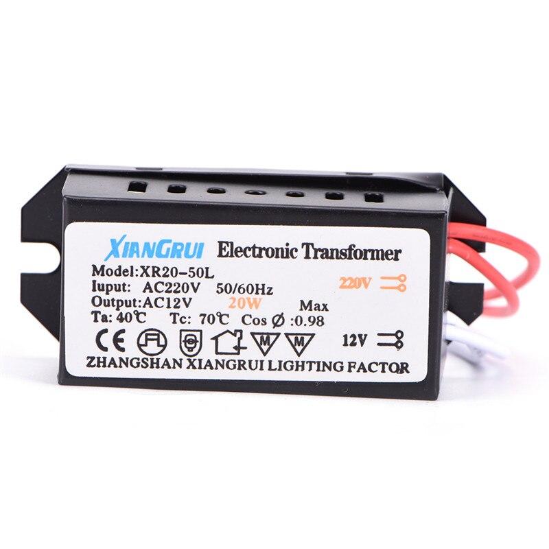 Transformador electrónico del controlador de la fuente de alimentación del LED de 20W CA 220V a 12V