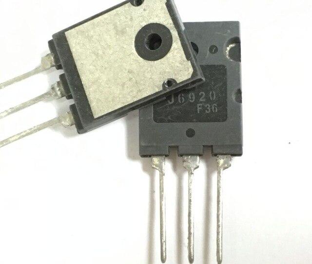 1 pçs/lote 2sj6920 j6920 6920 20a/1700v/60w usado grande chip hd tv linha tubo transistor