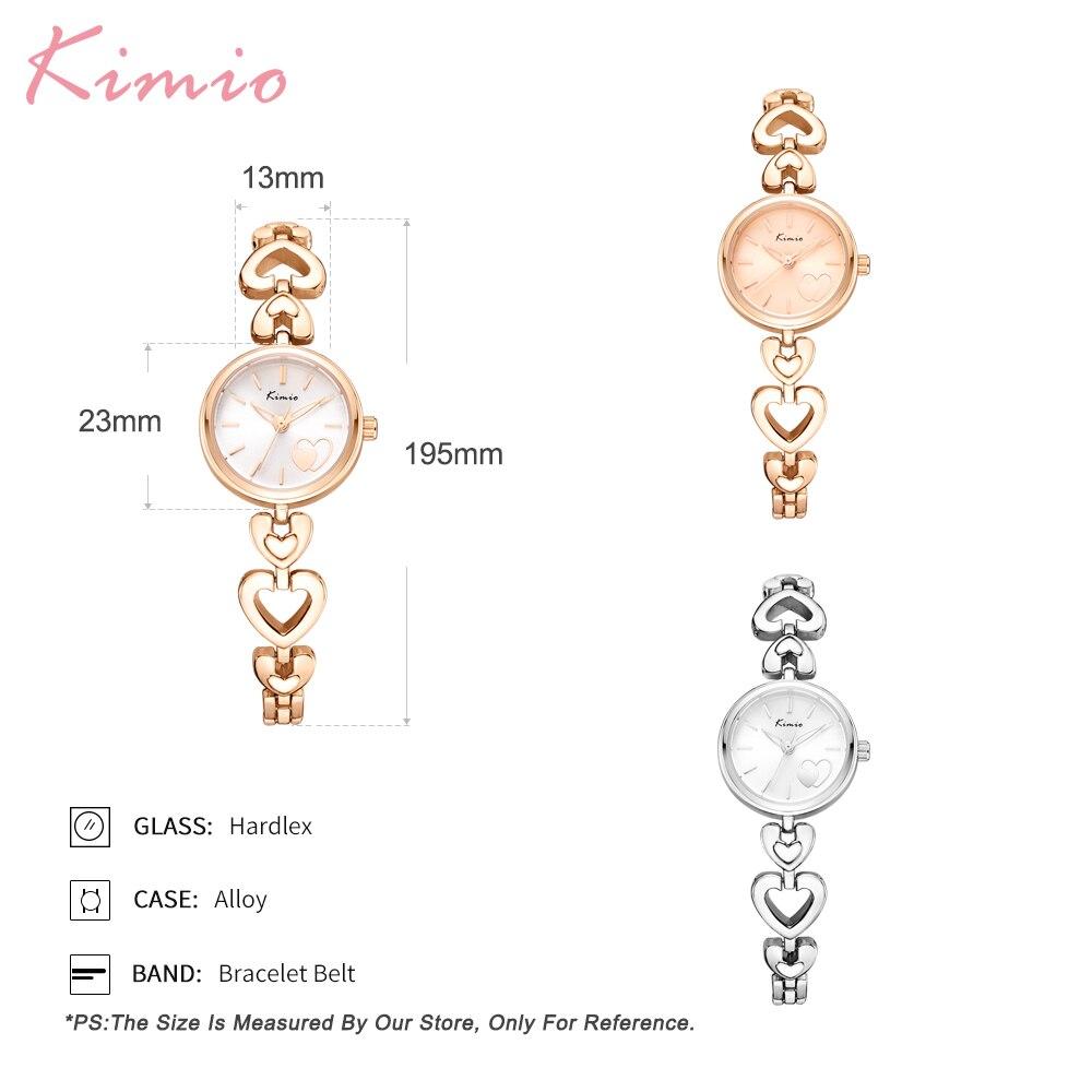 Kimio Watch Women New Creative Design Quartz Casual Fashion Stylish Ladies Gift Wrist Watch Vintage Timepieces relogio feminino