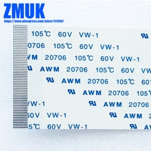 AWM 20706 105C 60В VW-1 гибкий FFC ленточный кабель