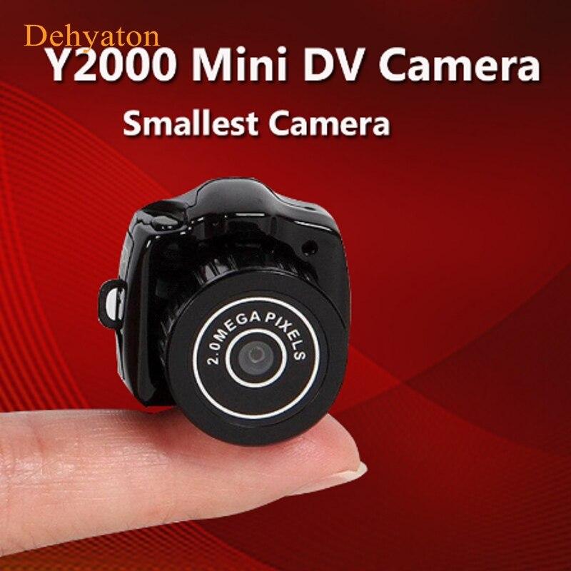 Micro más pequeña cámara portátil HD CMOS 2,0 Mega Pixel Pocket Video cámara de Audio Mini videocámara 480P grabadora DV DVR 720P JPG
