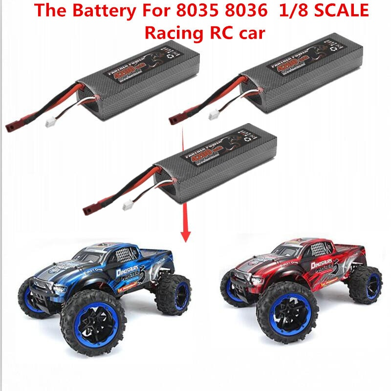 Original 8036 8035 80KM/H 4WD brushless top speed waterproof off road remote control RC car Spare Parts 7.4V 4200Mah Battery