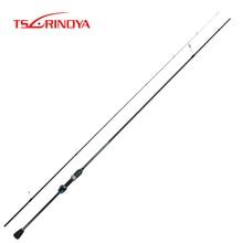 TSURINOYA dextérité 2.16m 722ULS canne à pêche canne à pêche FUJI Guide anneau Dongli 40T fibre de carbone basse leurre tige Pesca bâton canne