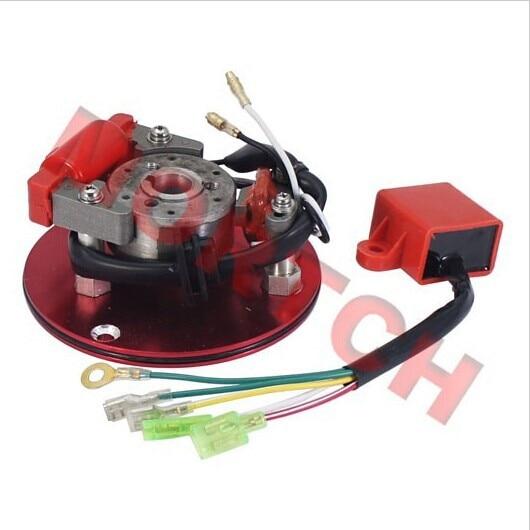 Corrida magneto inner rotor kit estator cdi xr crf50 50cc 70cc 90cc 110cc 125cc 140cc pit bicicleta da sujeira atv quad thumpstar peças