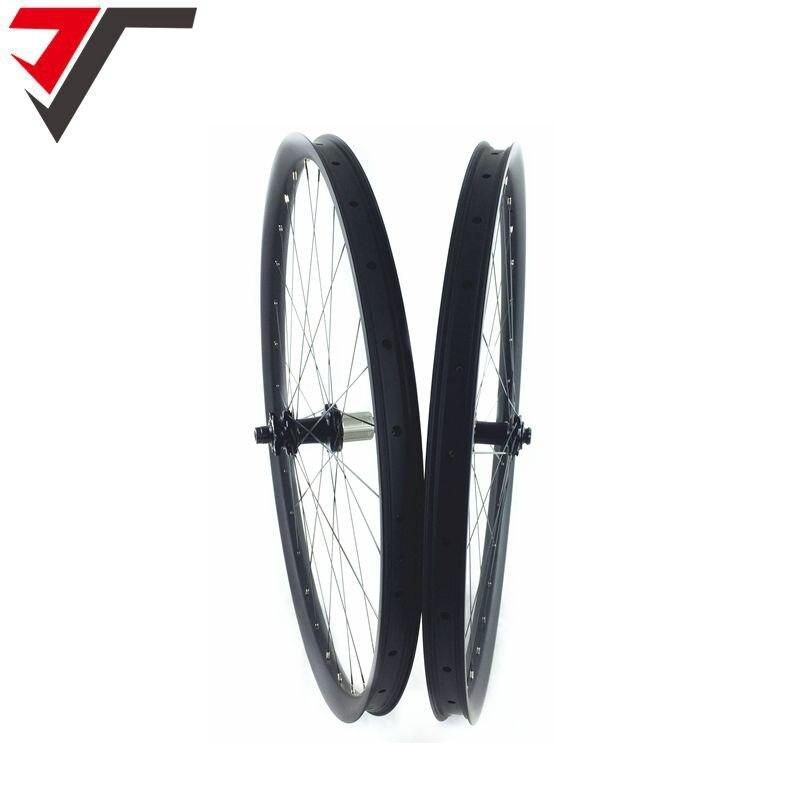 TRIPS 29ER MTB carbon wheels Tubeless 34mm width AM hookless mountain bike carbon wheelset 142mm thru axle bitex bicycle wheels