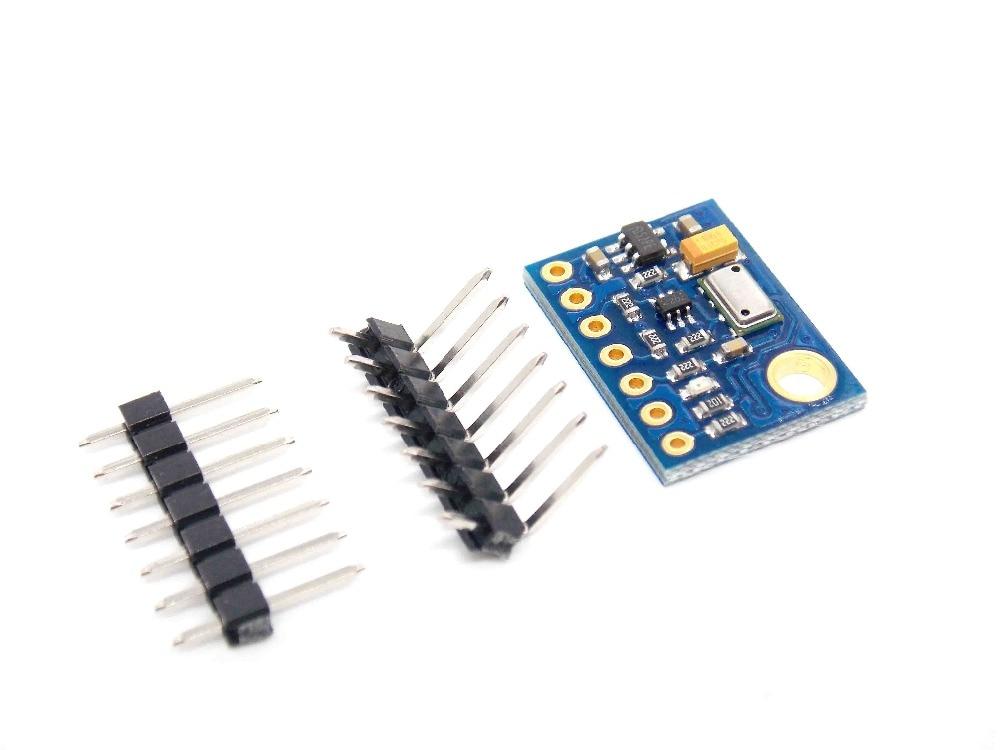 MS5611 de alta resolución de la presión atmosférica Módulo sensor de altura de la CII/SPI comunicación GY 63 GY-63