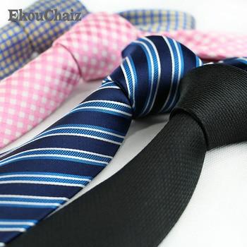 Customized 8cm Mens Silk Neckties Formal Stripy Dot Plaid Jacquard Wedding Neckties New Fashion Classic Corbata Neckwear Cravat