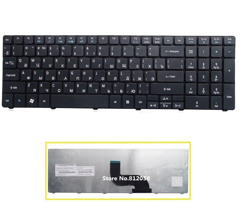 SSEA New RU Teclado para Acer Aspire 5745 5749 5800 5820 7235 7250 7251 7331 7336 7339 7535 5336 5410 laptop Russa teclado