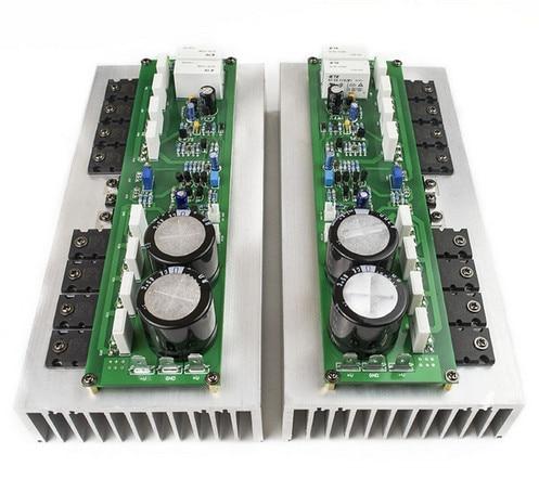 TTA1943 TTC5200 + MJE15032 15033 PR-800 1000W Clase A/Clase AB tubo de potencia de tablero de etapa profesional