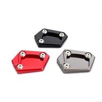 CNC Kickstand Side Stand Pad For Honda CBR250F CBR250R CBR300R CBR500R CBR600F CBR650F CBR600RR CB400 CB500 F/X CB 400 500