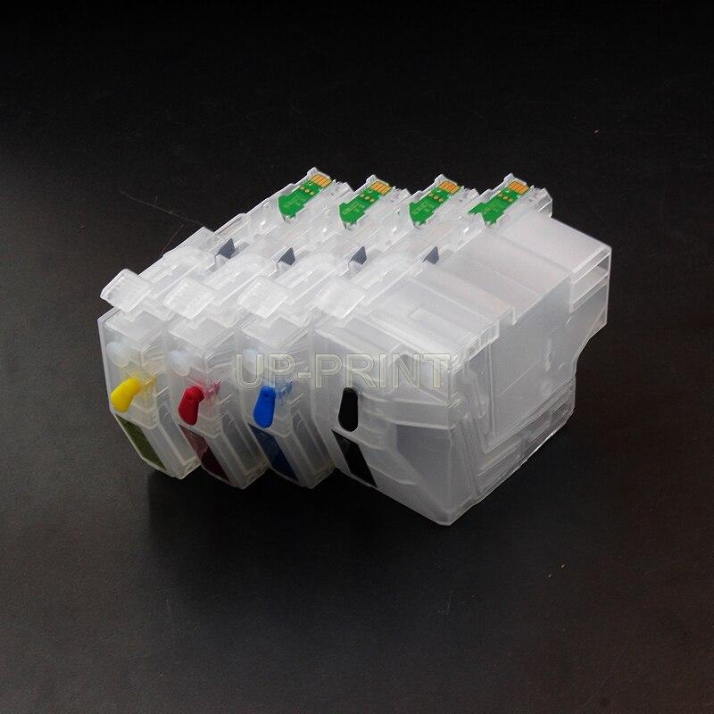 A LC3219 LC3219XL LC3217 vacía recarga de tinta cartucho para hermano MFC-J5330DW MFC J5930DW J5335DW J5730DW J6930DW J6935DW