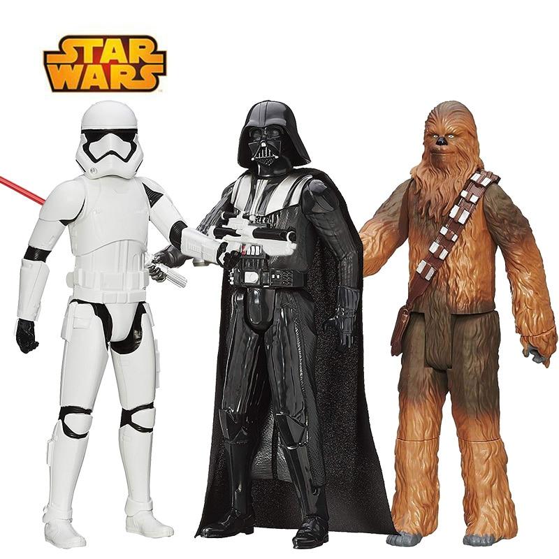 30 см Звездные войны, флакопер Chewbacca, штурмовик, Дарт Вейдер, кило Рен Финн, фигурка, Подарочная игрушка для детей, коллекционная кукла