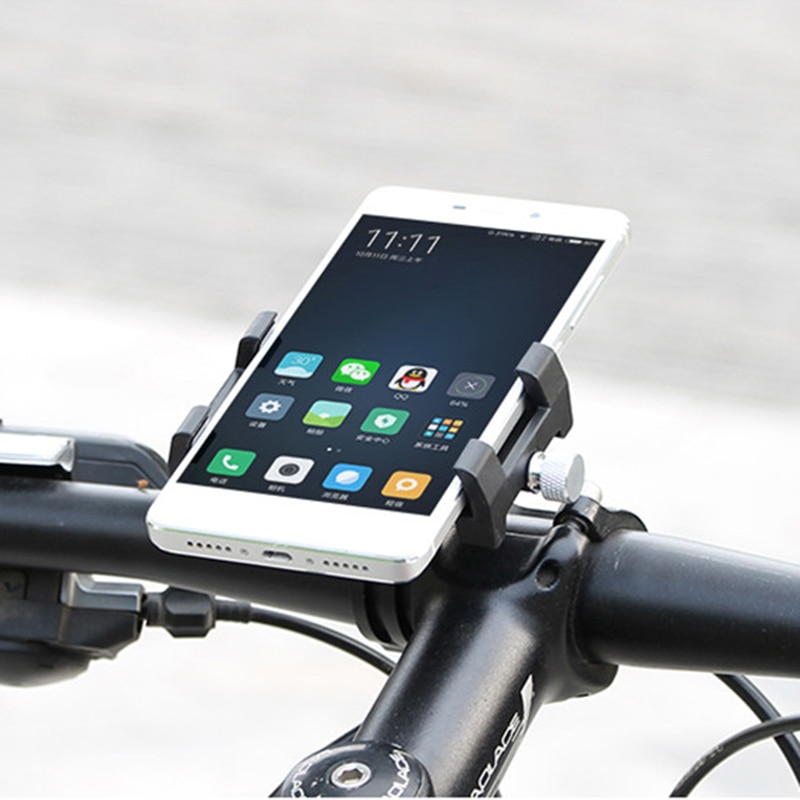 Atualizado GUB MTB Bicicleta Da Bicicleta Telefone Mount Holder Suporte Para 3.5-6.2 polegada de Smartphones Bicicleta Guiador Suporte para Huawei, iPhone 8 X