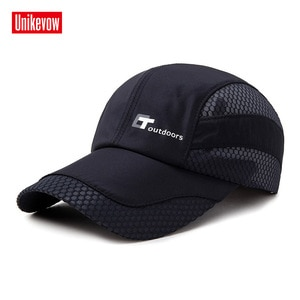 UNIKEVOW Mesh Baseball Cap Quick-dry Sun Hats For Men And Women Light Hat Sports Leisure Outdoor Caps
