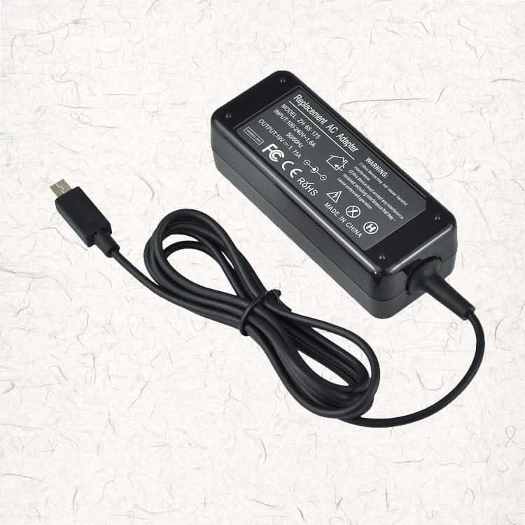 19 В 1.75A 33 Вт AC Ноутбук Адаптеры питания Зарядное устройство для ASUS eeebook X205T X205TA изобрел новый высокое качество