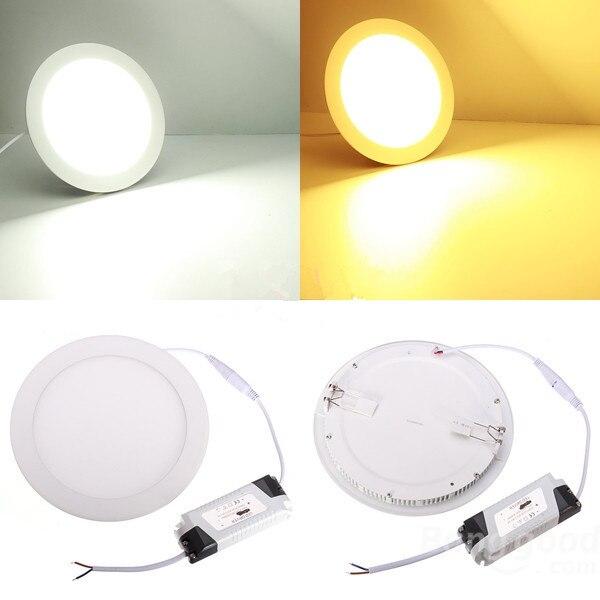 Ультратонкая светодиодная лампа, 3 Вт, 4 Вт, 6 Вт, 9 Вт, 12 Вт, 15 Вт, 25 Вт
