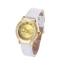 Relogio Feminino meilleure vente 2018 nouvelle marque de mode en cuir montre à Quartz Hodinky femmes strass robe montres vente Reloj Mujer
