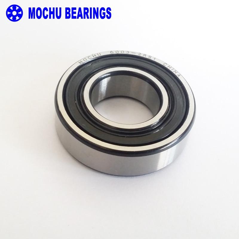 1pcs Bearing 6003 6003RS 6003RZ 6003-2RS1 6003-2RS 17x35x10 MOCHU Shielded Deep Groove Ball Bearings Single Row High Quality