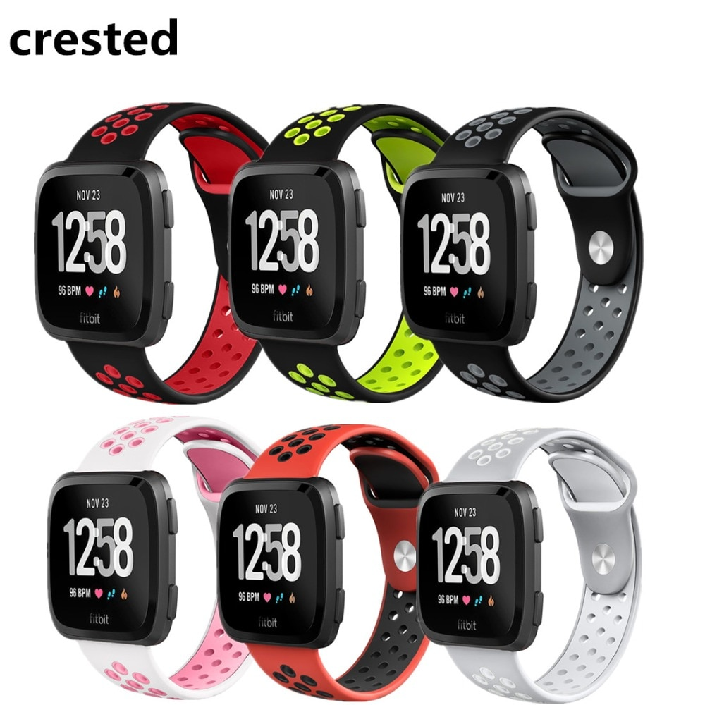 Sport band For fitbit versa/versa 2/versa lite strap Silicone correa wrist Replacement Bracelet belt smart watch Accessories