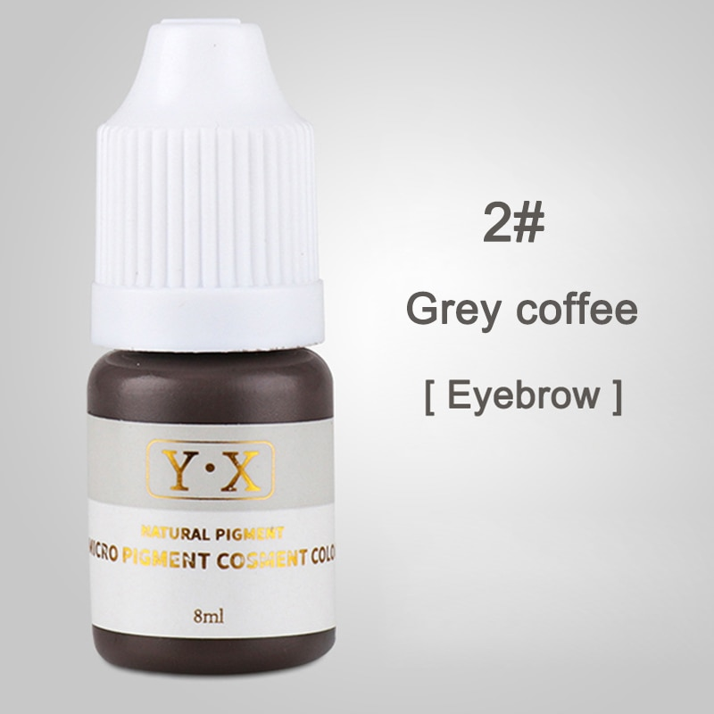 Hot sale Semi Permanent Makeup Eyebrow Ink Lips Eye Line Tattoo Color Microblading Pigment