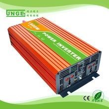 1.5KW/1500 W 12/24/48 V om 100/110/120/220/230/240VAC 50/60Hz residentiële thuis hoge frequentie gebruik pure sinus off grid omvormer
