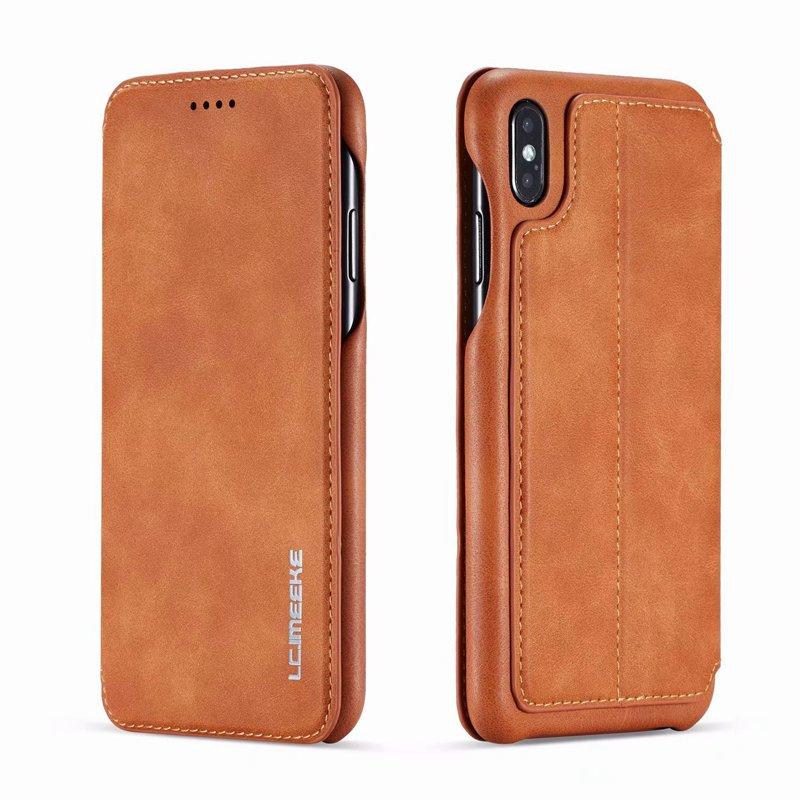 Чехол-книжка для iphone se 2020 13 12 Mini 11 Pro Max x xs max xr 6 s 7 8 plus, роскошный кожаный чехол для телефона
