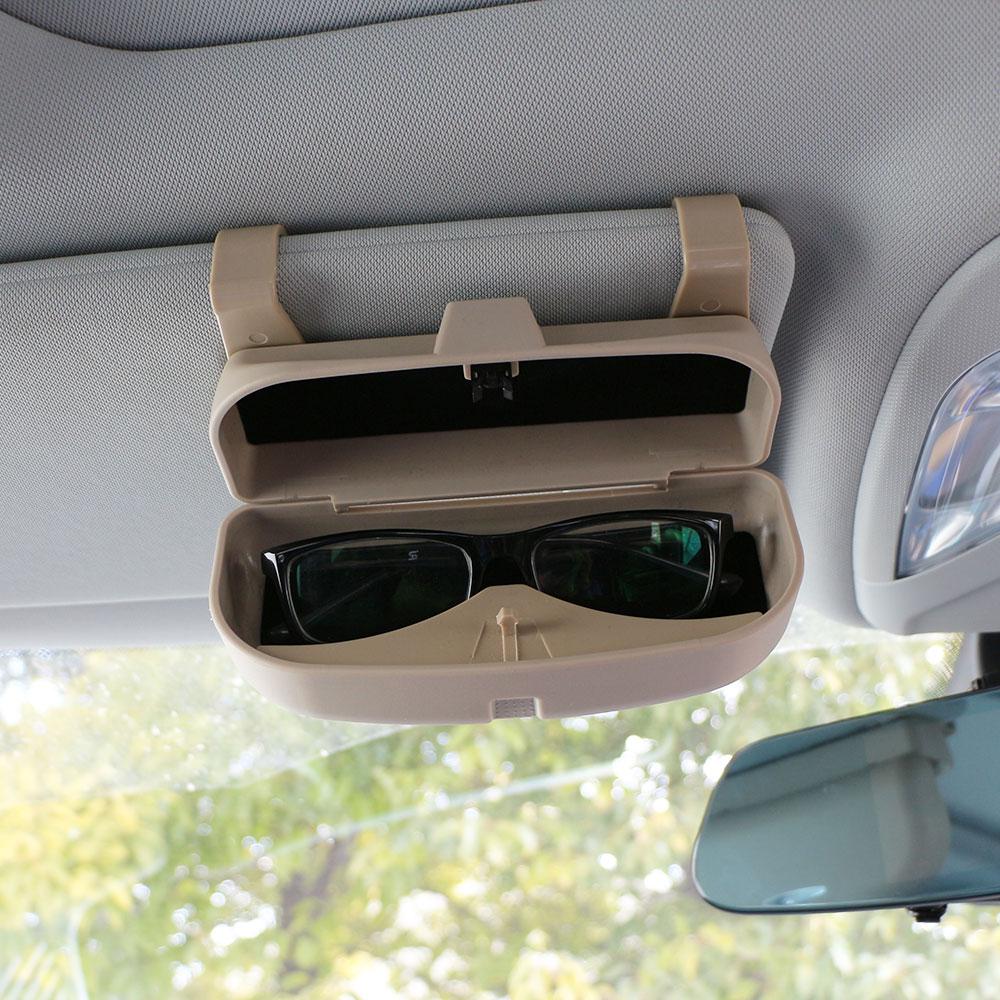 Caja de gafas de cristal con estilo coche Carmilla para Chevrolet Cruze Chevrolet Malibu, TRAX Aveo Equinox para Ford Focus Mondeo Fiesta Ka