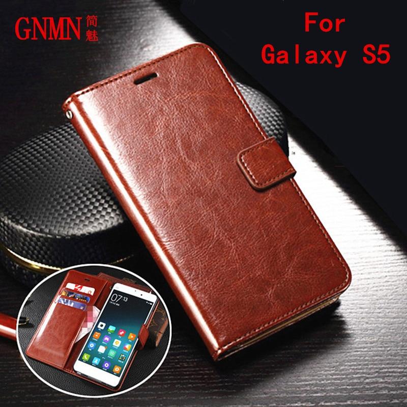 Gnmn original para Samsung Galaxy S5 teléfono móvil funda teléfono Shell Samsung S5 caso clamshell caso G900F G900V G900P g900T